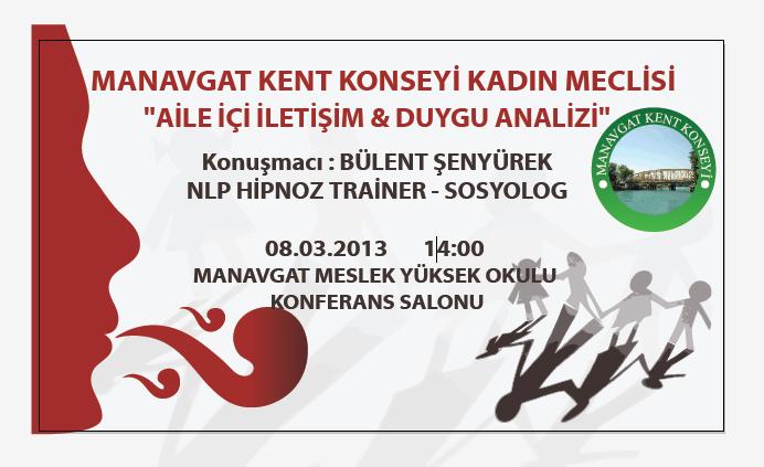 Akdeniz üniversitesi manavgat meslek yüksekokulu tarıh 8 mart 2013